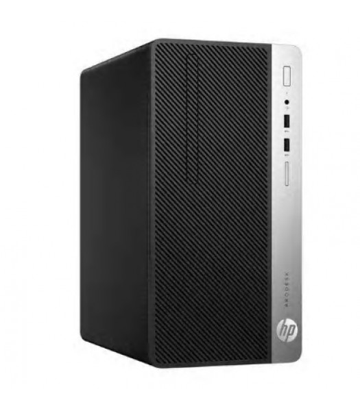 HP Prodesk 400 G4 Minitower  Core i5-7500, 8GB RAM, 256GB SSD, DVD±RW, Windows 10 Pro