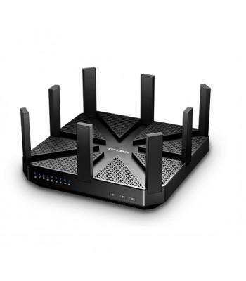 TP-Link Talon AD7200, trådlös Multi band router, 802-11a/b/g/n/ac/ad, 7200Mbps, WiGig, svart