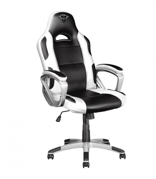 Trust GXT 705 Ryon Gaming Chair White Black