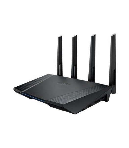 ASUS RT-AC87U NORDIC Wireless Router Gigabit 802.11ac 1734+600Mbps WLAN USB3.0 AiCloud 3G/4G